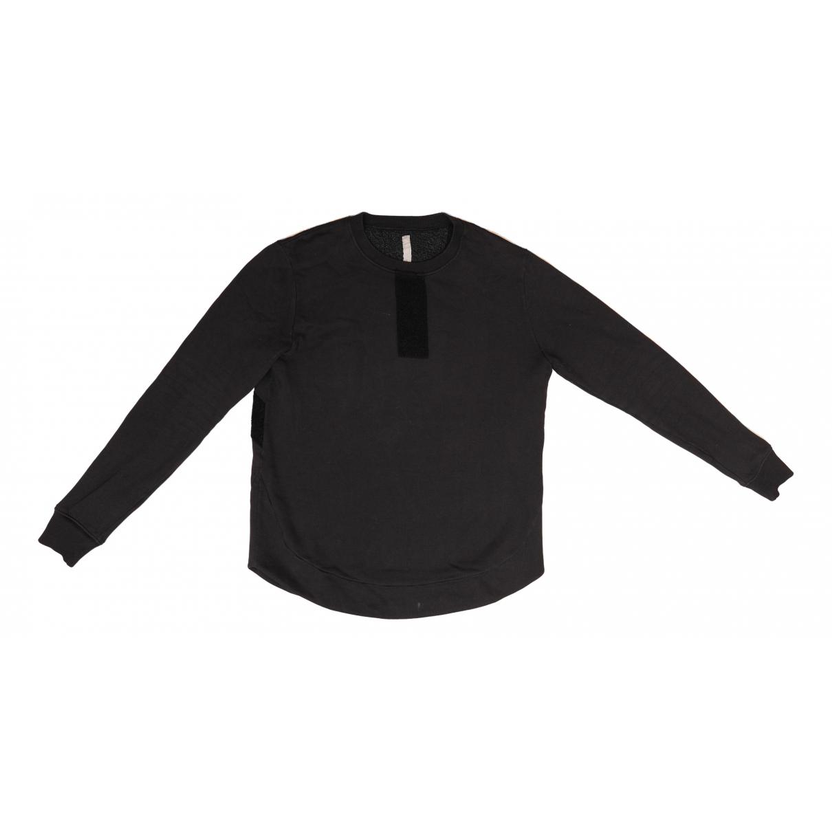 Damir Doma \N Pullover.Westen.Sweatshirts  in  Schwarz Baumwolle
