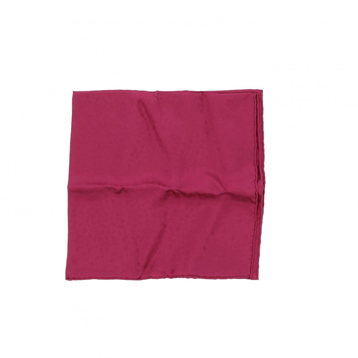 Hermes \N Schal in  Rosa Seide