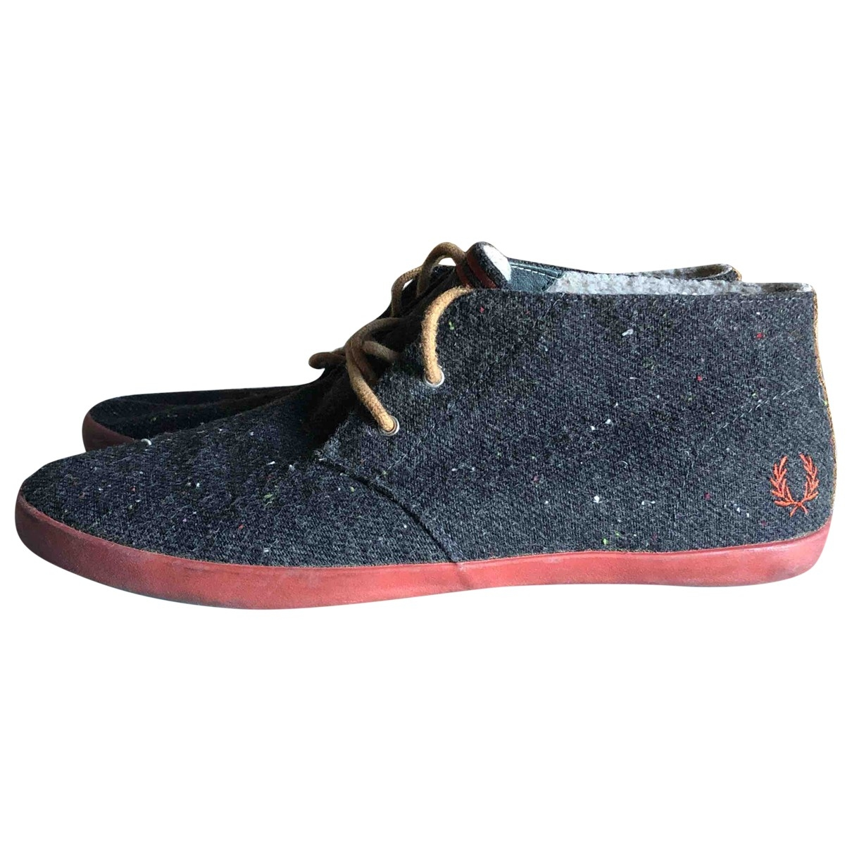 Fred Perry - Baskets   pour homme en suede