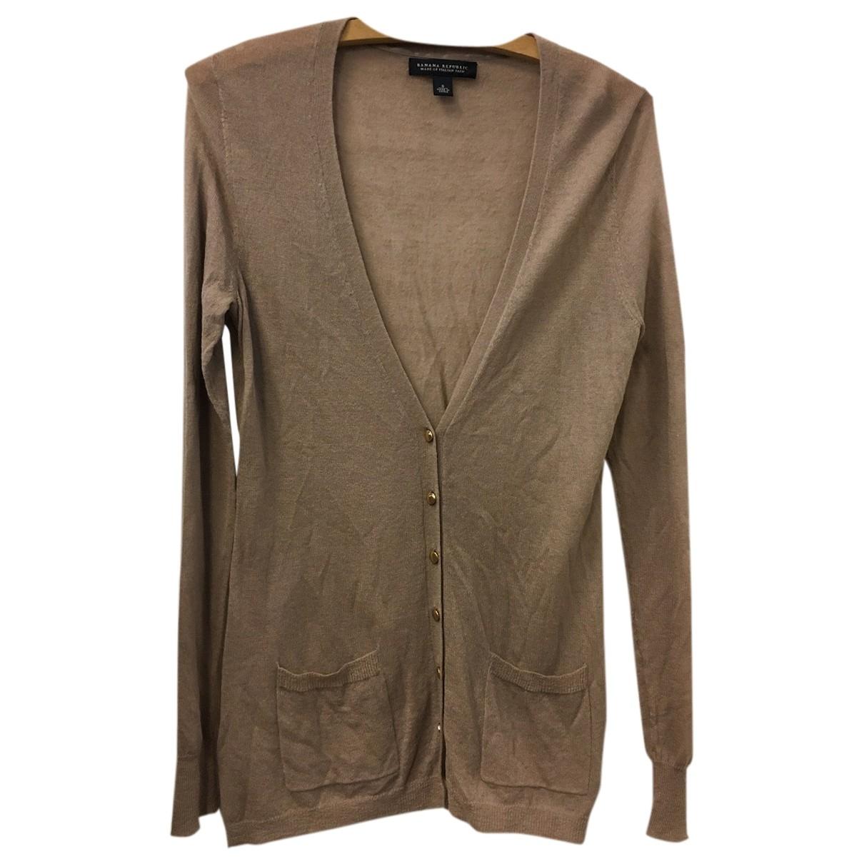 Banana Republic - Pull   pour femme en laine - marron