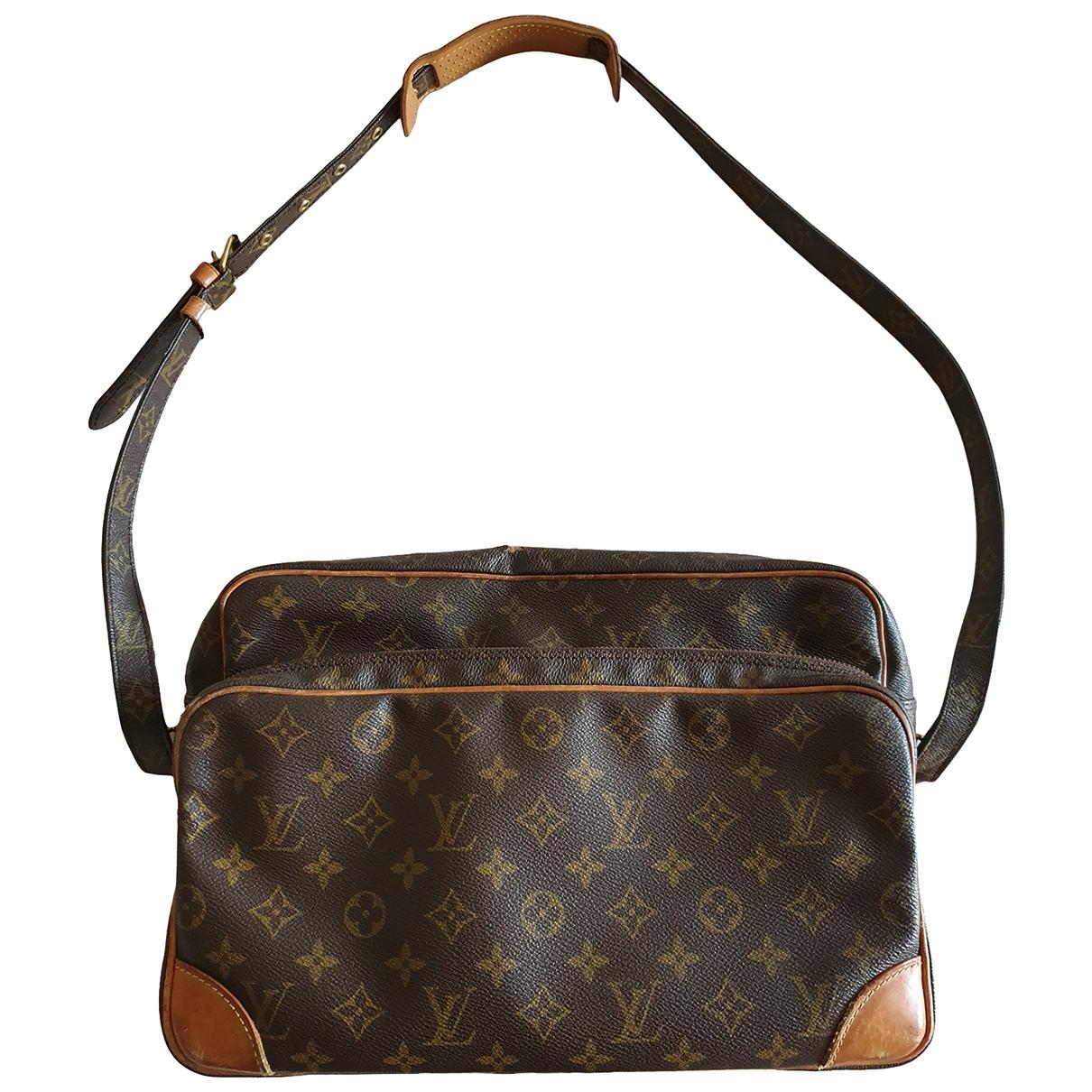 Louis Vuitton Trocadero Handtasche in Leinen