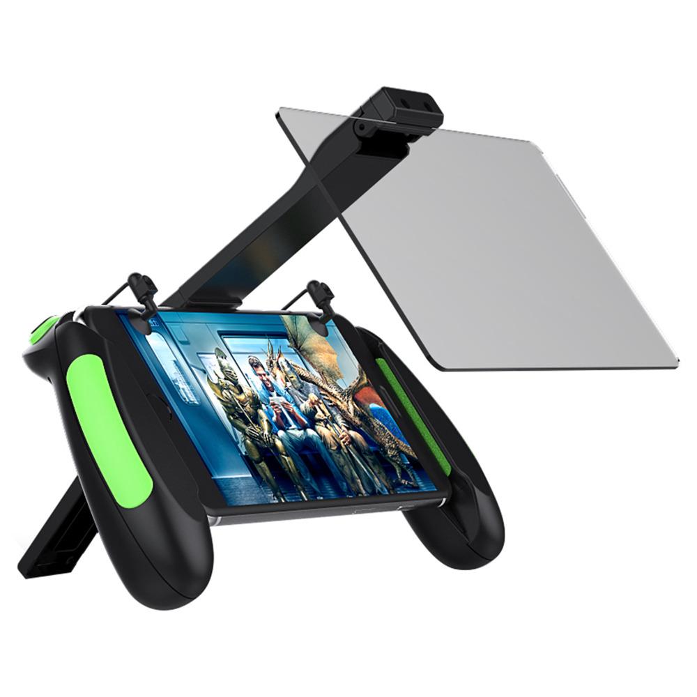 VR SHINECON SC-B06 Gamepad Double Mirror Mobile Phone Screen Amplifier Support PUBG - Black