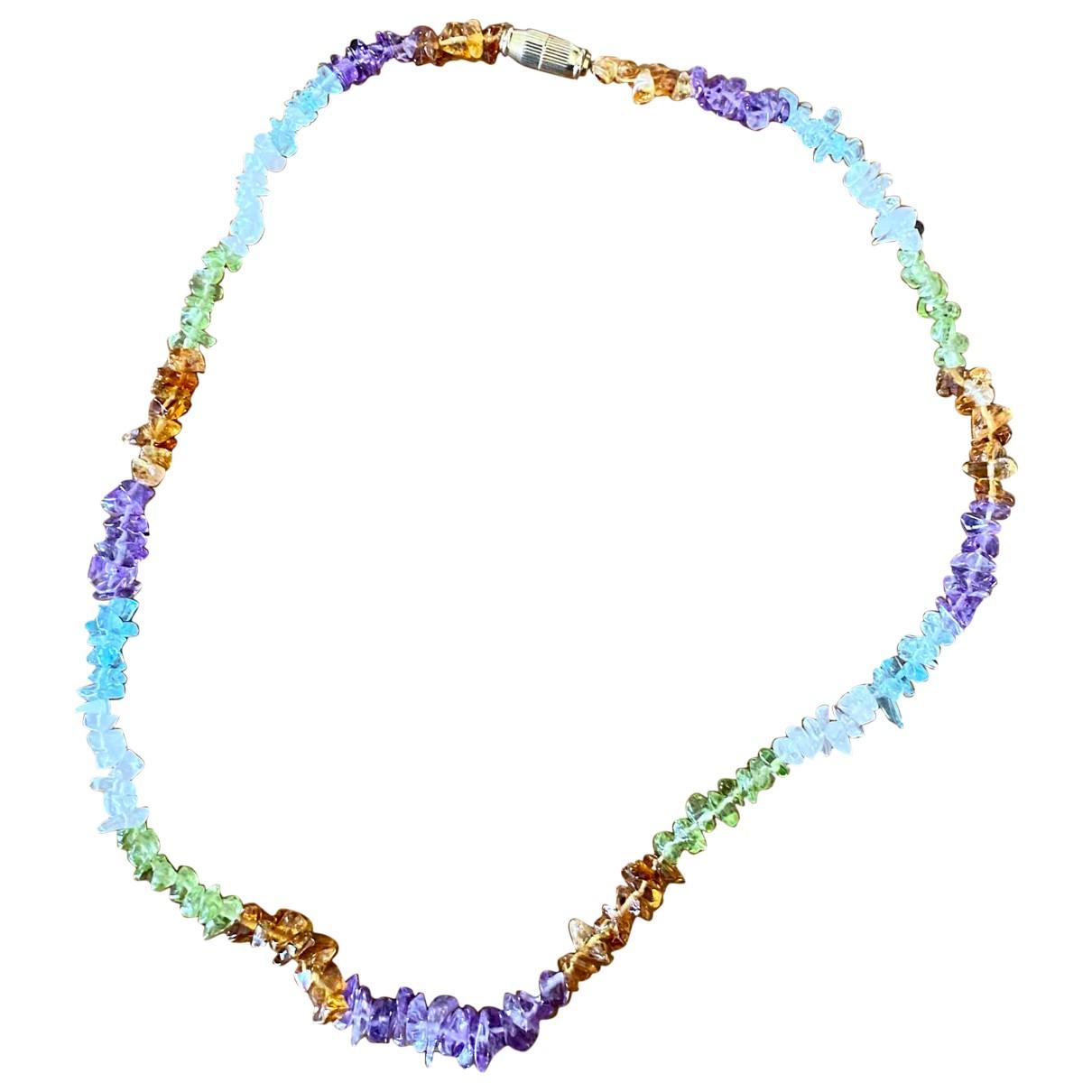 - Collier Amethyste pour femme en perles