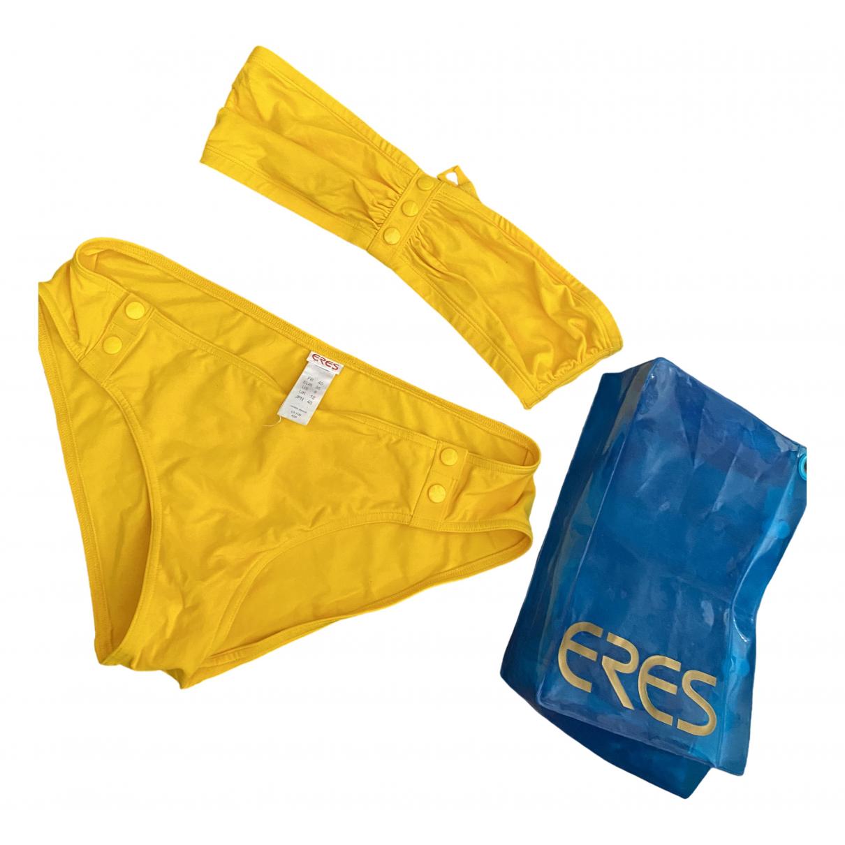 Eres \N Badeanzug in  Gelb Polyester