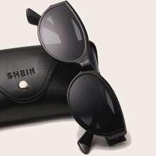 Maenner Sonnenbrille mit Acryl Rahmen