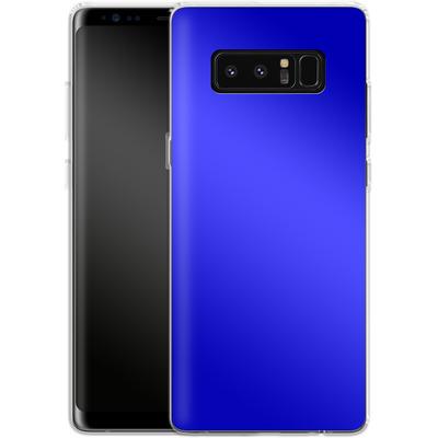 Samsung Galaxy Note 8 Silikon Handyhuelle - Test Blue von caseable Designs