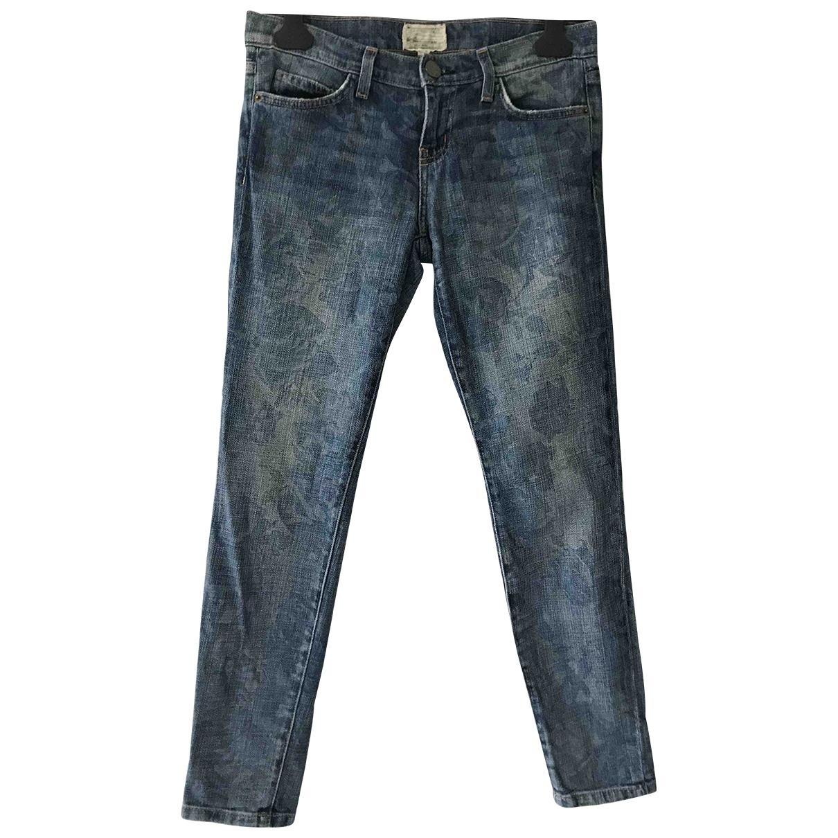 Current Elliott \N Blue Denim - Jeans Jeans for Women 26 US