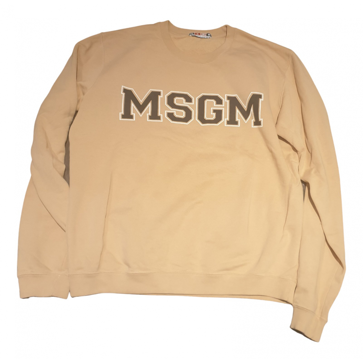 Msgm N Camel Cotton Knitwear & Sweatshirts for Men L International