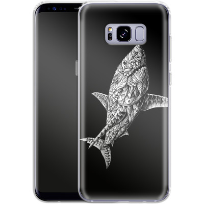 Samsung Galaxy S8 Plus Silikon Handyhuelle - Great White von BIOWORKZ