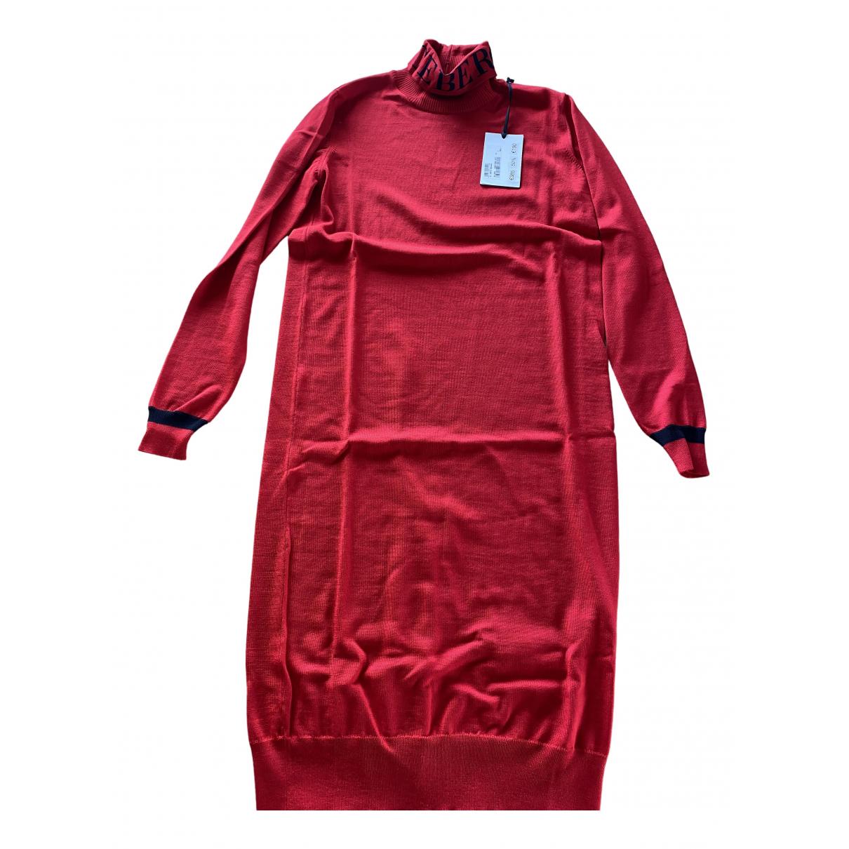 Iceberg \N Kleid in  Rot Wolle