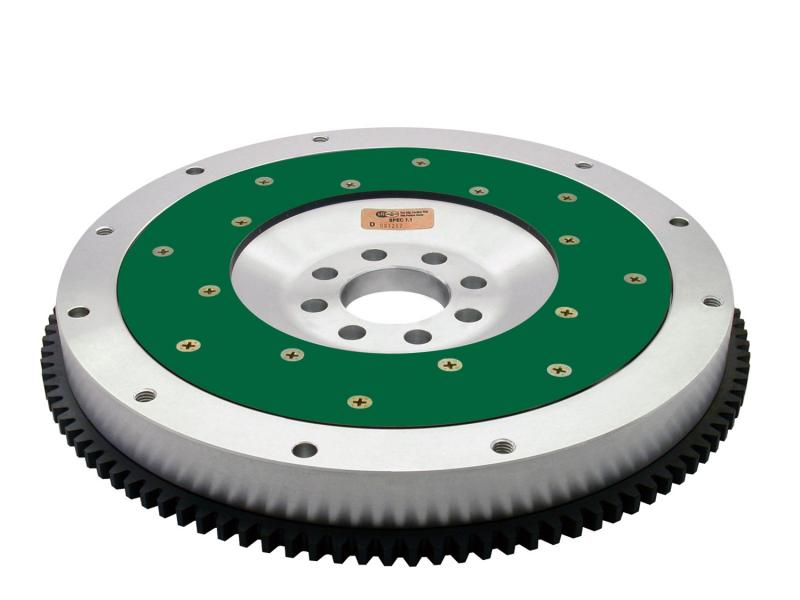Fidanza 143201 Performance Flywheel-Aluminum PC Nis11; High Performance; Lightweight with Replaceable Frict