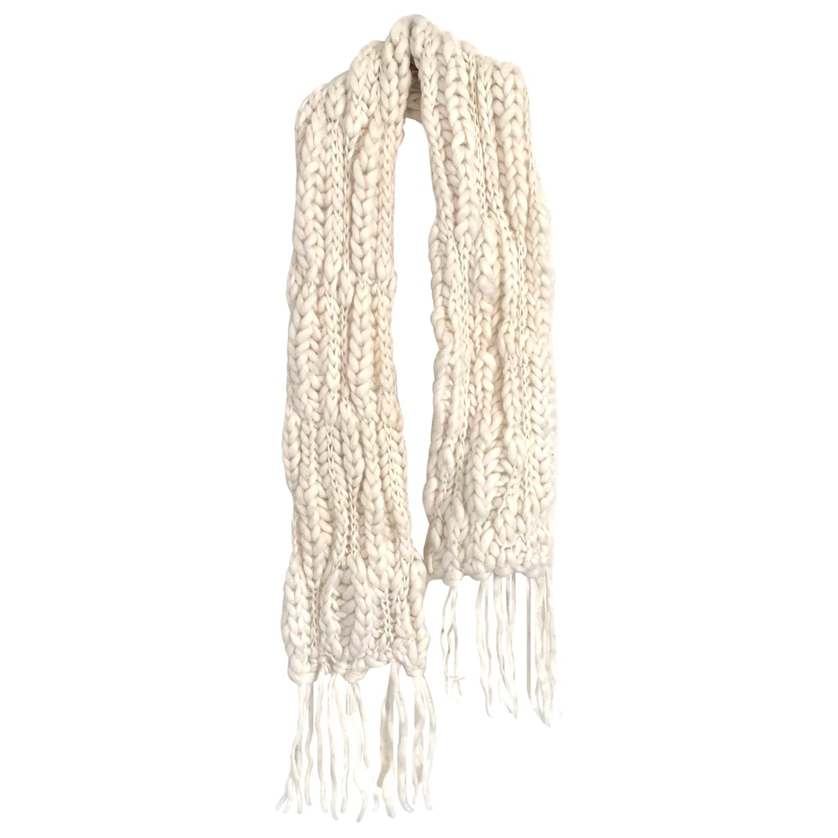 Liu.jo - Foulard   pour femme en laine - blanc