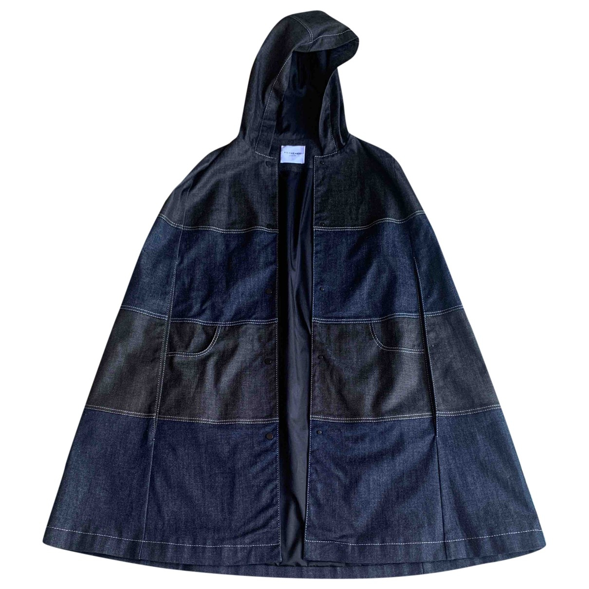 Vilshenko - Manteau   pour femme en denim - marine