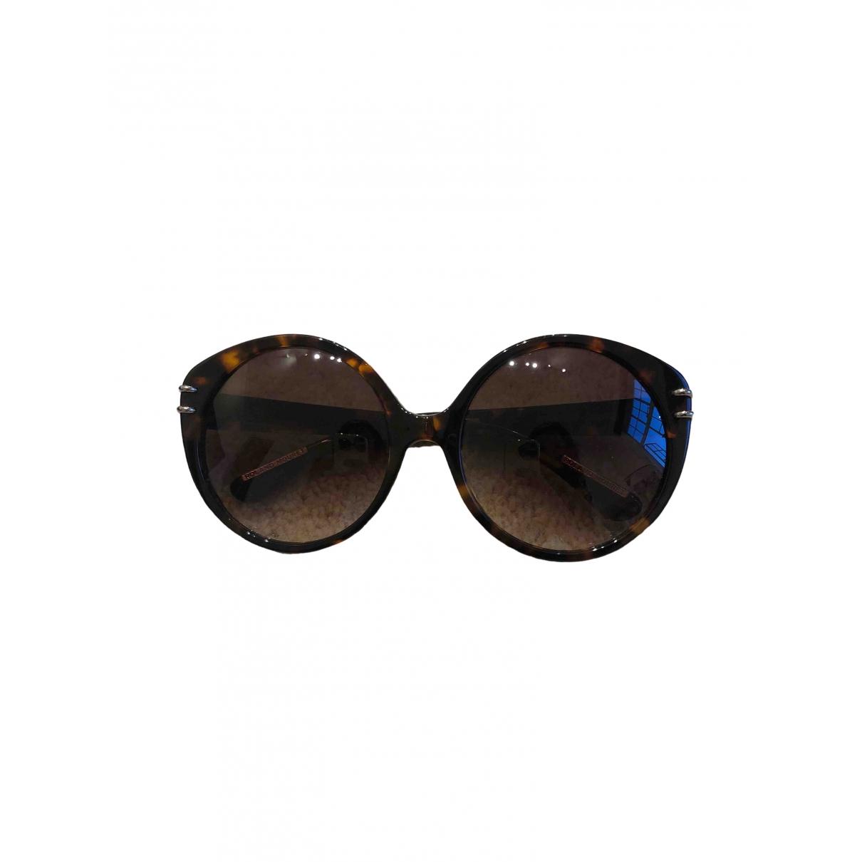 Roland Mouret \N Sonnenbrillen in  Braun Kunststoff