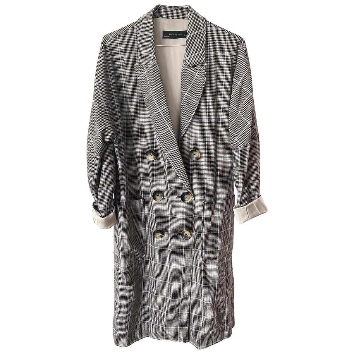 Zara \N Multicolour Linen coat for Women S International