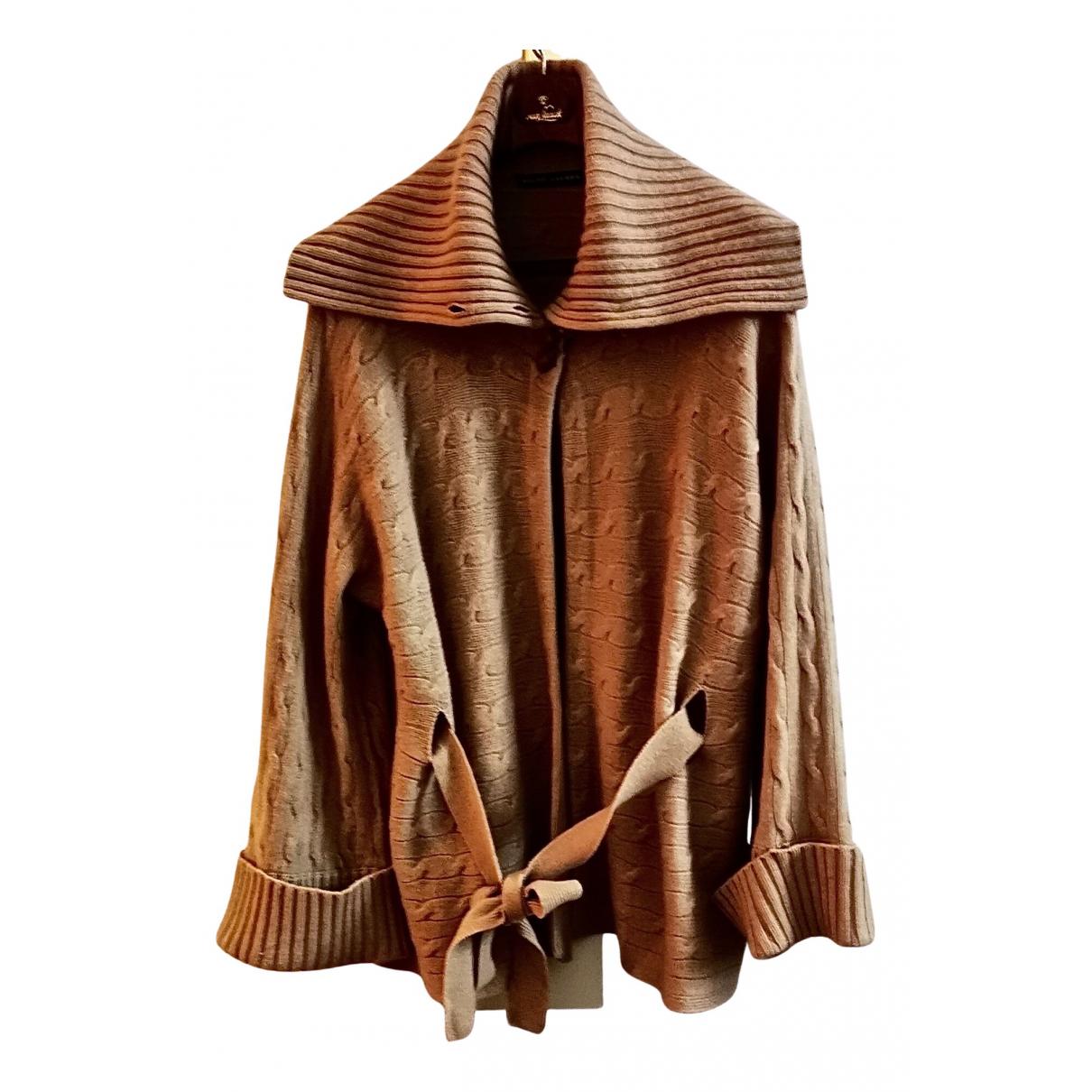 Ralph Lauren \N Camel Cashmere Knitwear for Women 42 FR