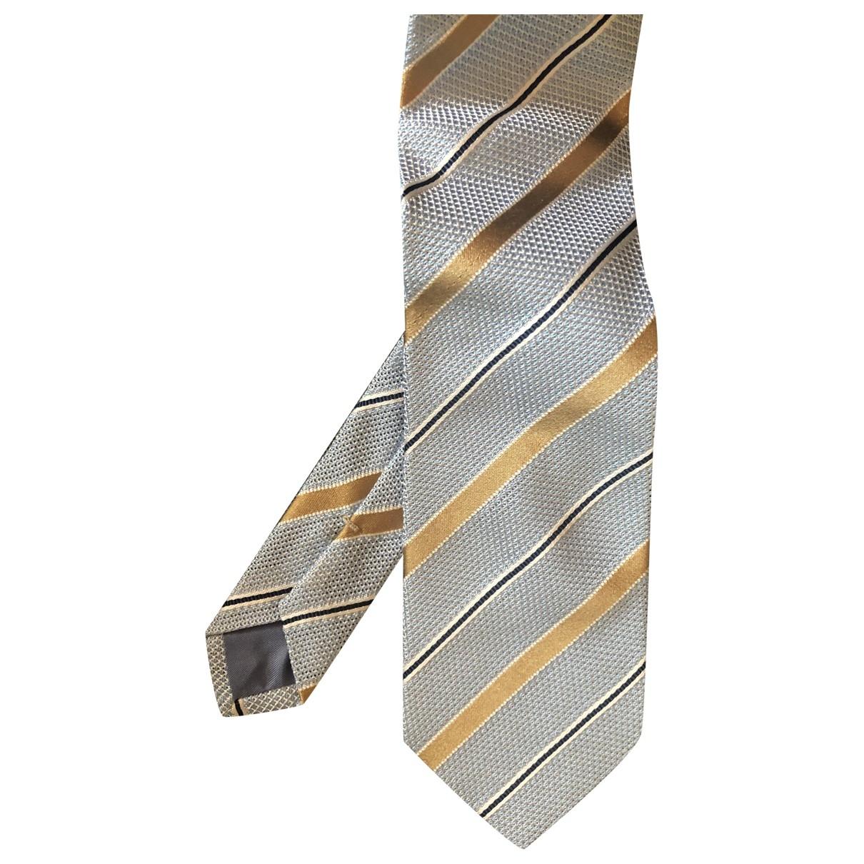 Bigi \N Krawatten in  Tuerkis Seide