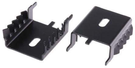 AAVID THERMALLOY Heatsink, 13°C/W, 12.3 x 29 x 35mm, Clip, Black (5)