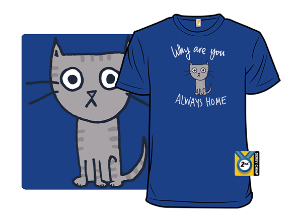 Cat Needs Alone Time T Shirt