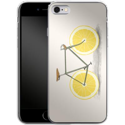 Apple iPhone 6 Silikon Handyhuelle - Zest von Florent Bodart
