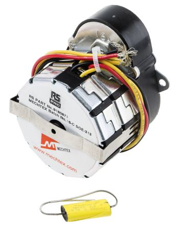 RS PRO Synchronous AC Geared Motor, 1 Phase, Reversible, 230 V, 30 rpm, 3.6 W
