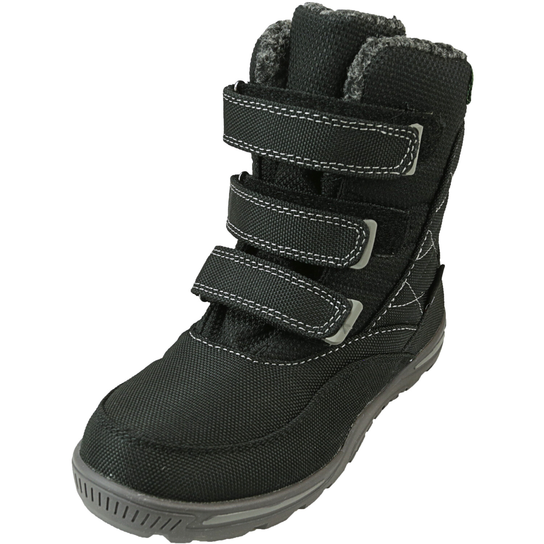 Kamik Boy's Hayden Black Mid-Calf Fabric Boot - 1M