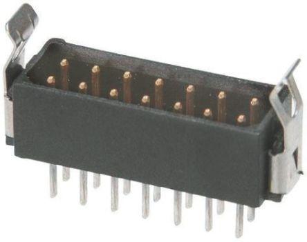 HARWIN , Datamate L-Tek, 14 Way, 2 Row, Straight PCB Header