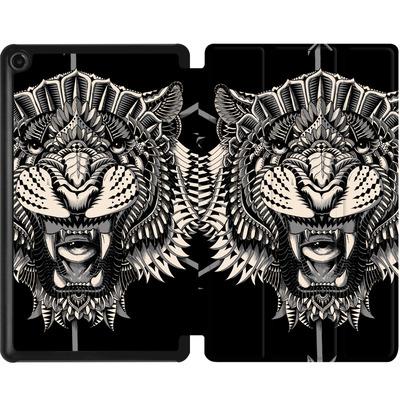 Amazon Fire 7 (2017) Tablet Smart Case - Eye Of The Tiger von BIOWORKZ
