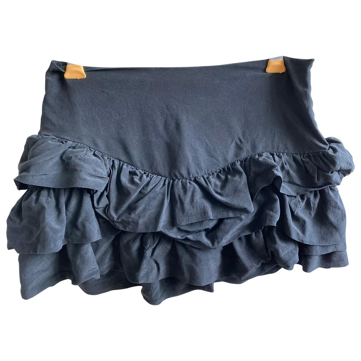 Mini falda de Seda Maje