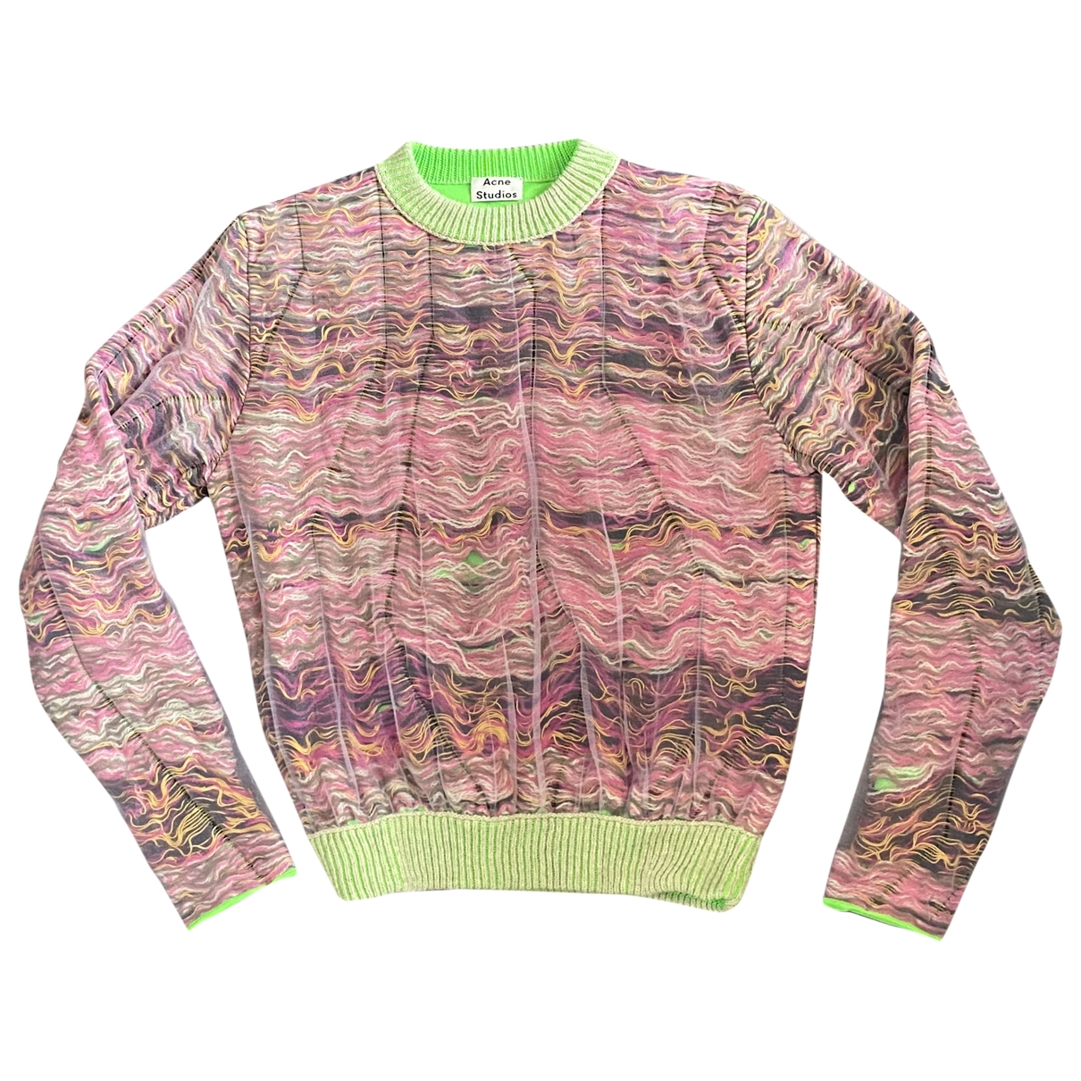 Acne Studios \N Multicolour Cotton Knitwear & Sweatshirts for Men M International