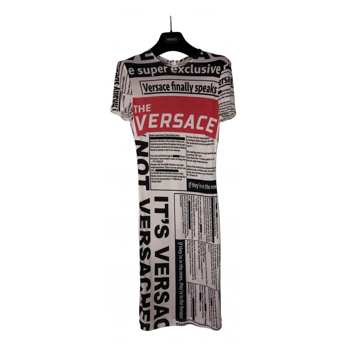 Gianni Versace \N Kleid in  Bunt Synthetik