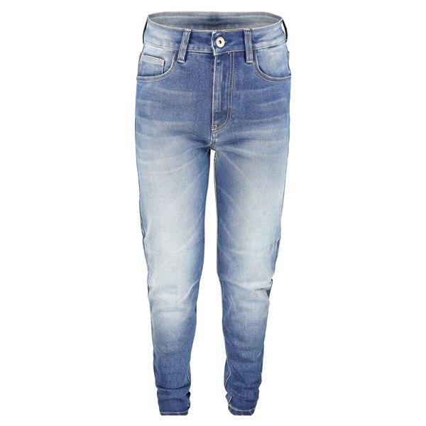 ROKKER Rokkertech High Waist  / Taille  Haute Jean De Moto Bleu L32/W30