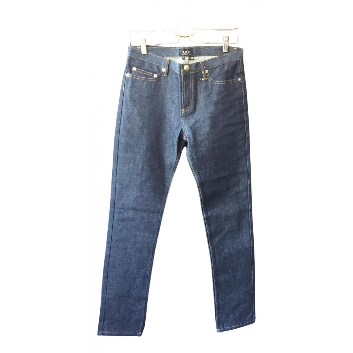 Apc N Blue Denim - Jeans Jeans for Women 29 US
