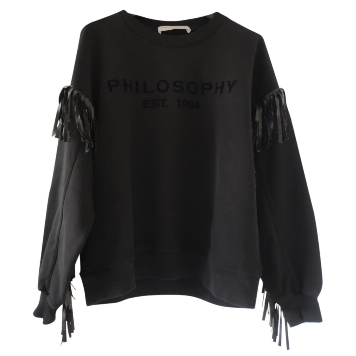 Philosophy Di Lorenzo Serafini - Top   pour femme en coton - noir