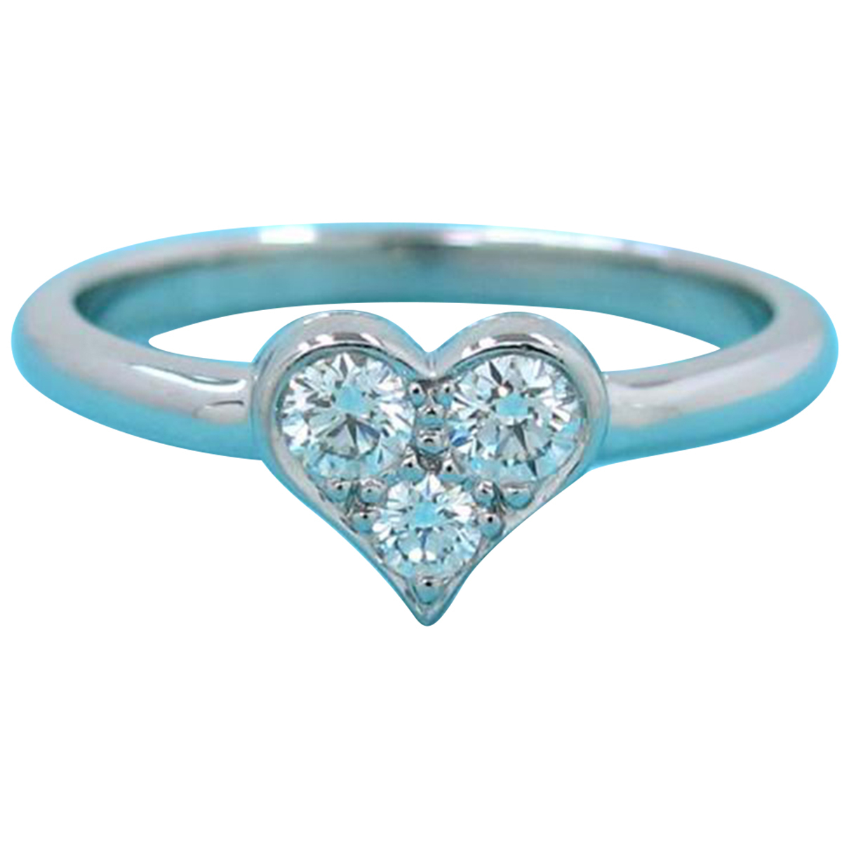 Tiffany & Co - Bague   pour femme en platine