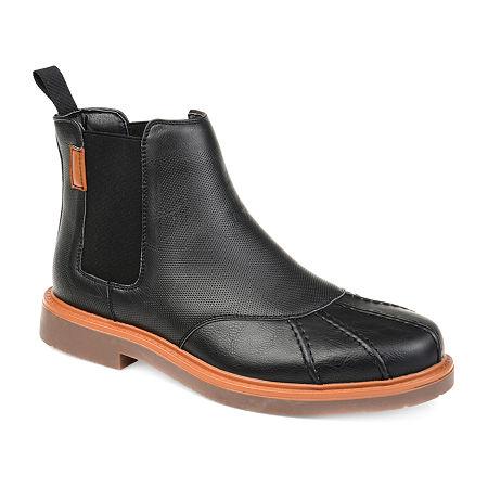 Vance Co Mens Tanner Chukka Boots Block Heel, 9 1/2 Medium, Black