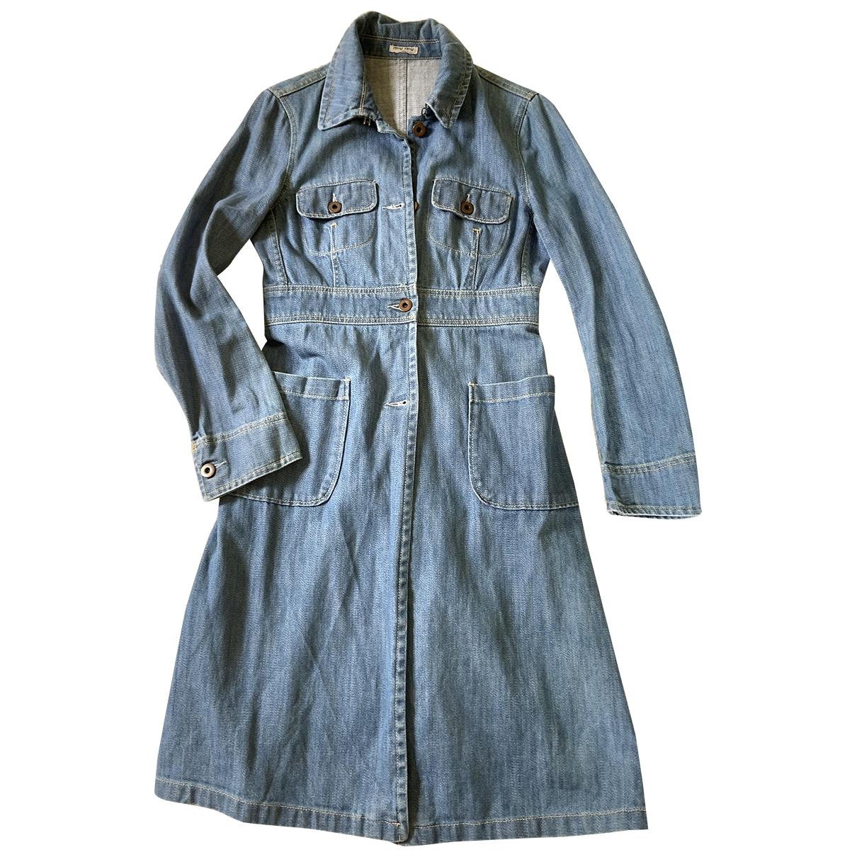 Miu Miu \N Maentel in  Blau Denim - Jeans