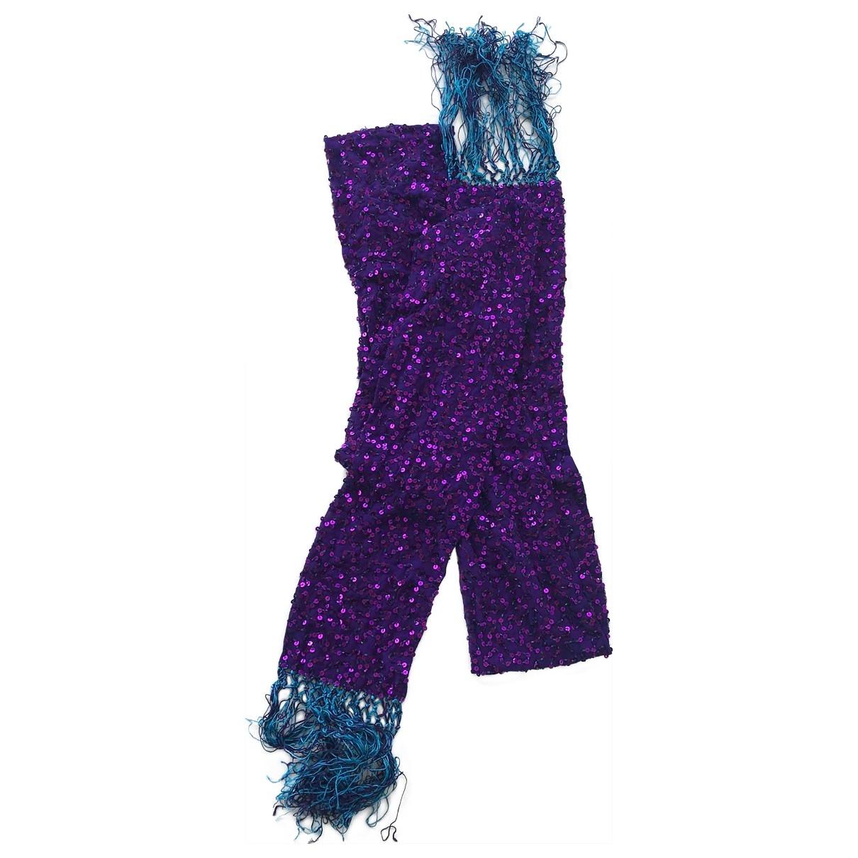 Dolce & Gabbana \N Schal in  Lila Mit Pailletten