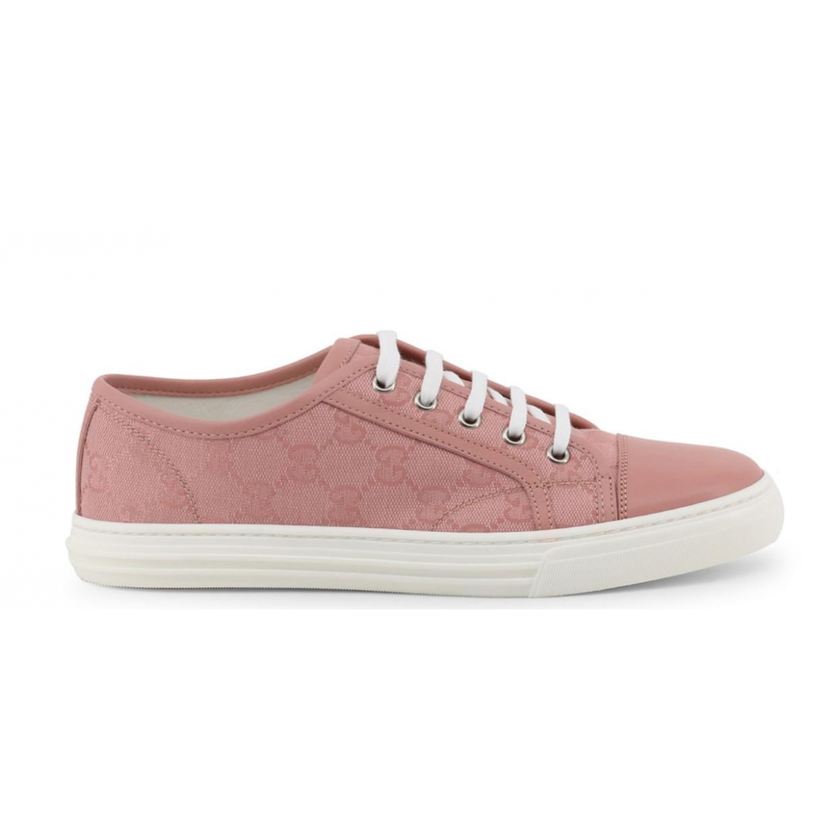 Gucci \N Sneakers in  Rosa Leinen