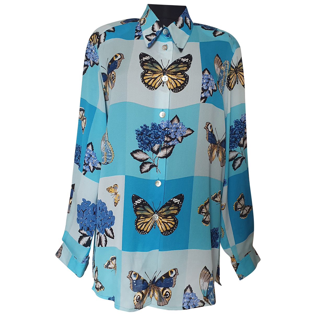 Camisa de Seda Elegance Paris