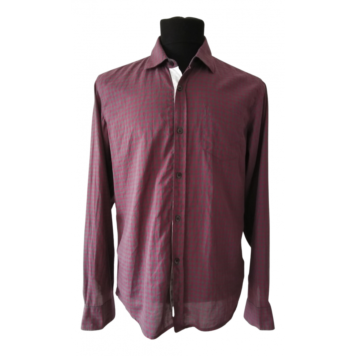 Dries Van Noten N Red Cotton Shirts for Men M International