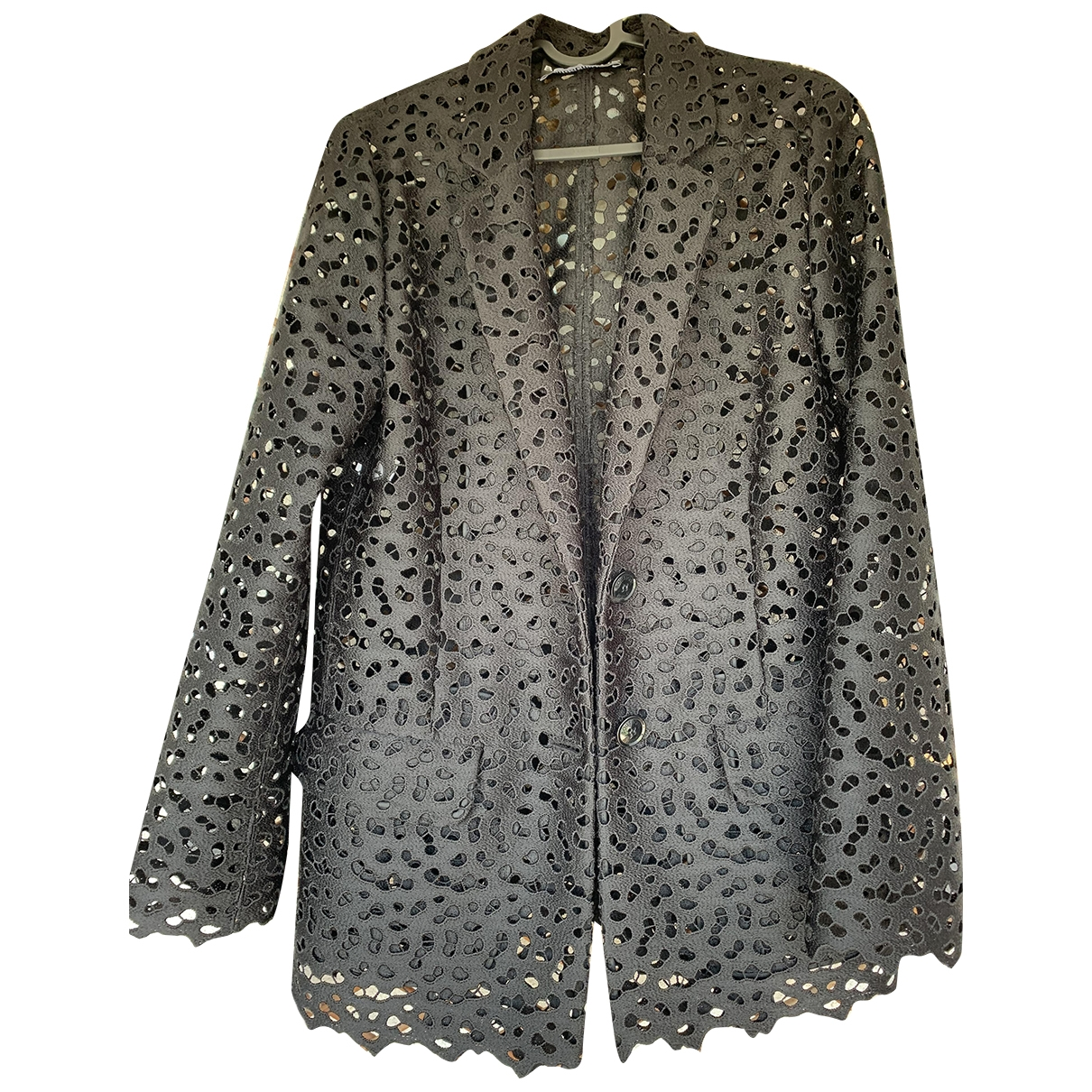 Moschino \N Black jacket for Women 40 IT