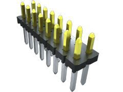 Samtec , TLW, 6 Way, 1 Row, Straight PCB Header (1000)