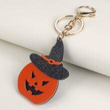 Halloween Pumpkin Design Bag Charm