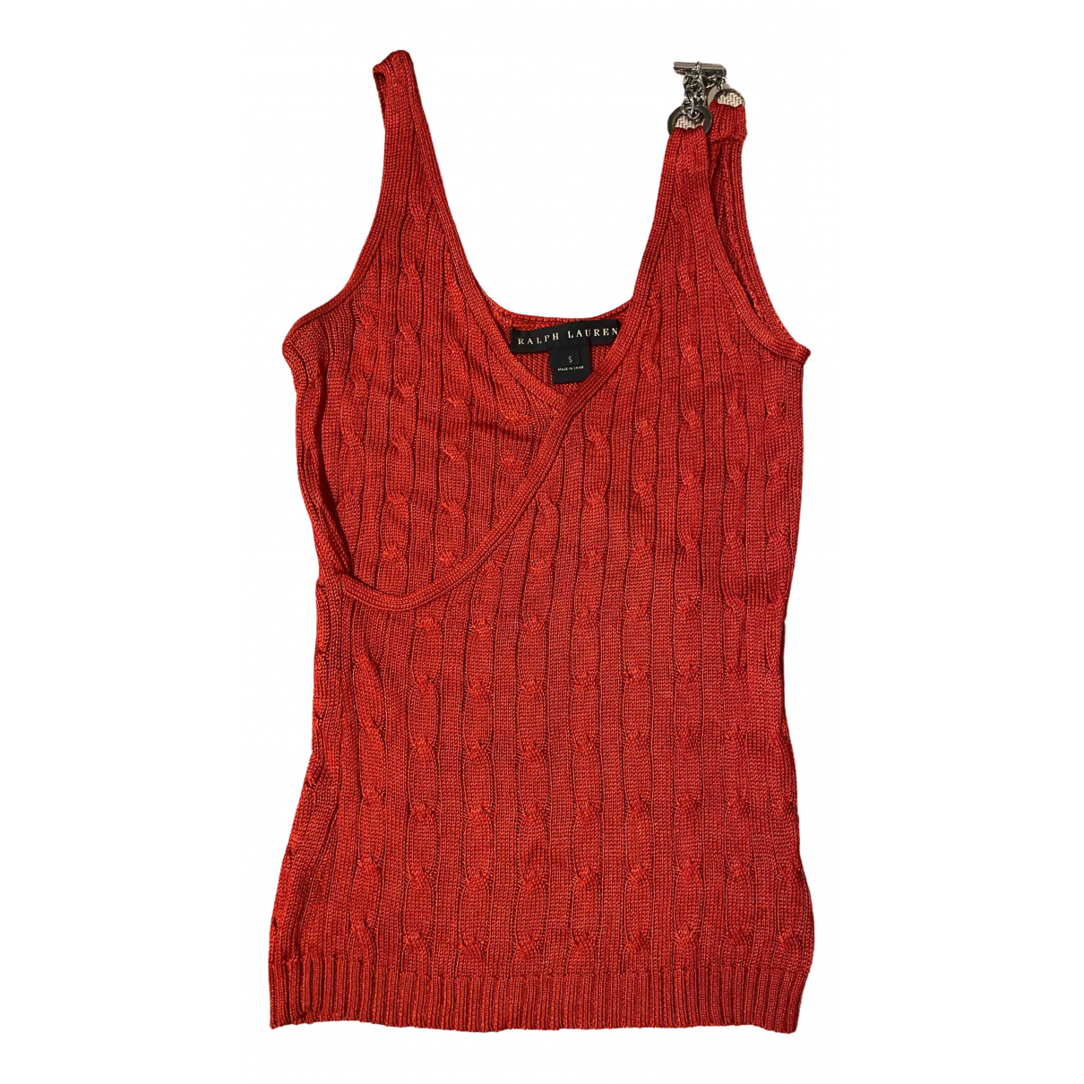 Ralph Lauren \N Red Silk  top for Women S International
