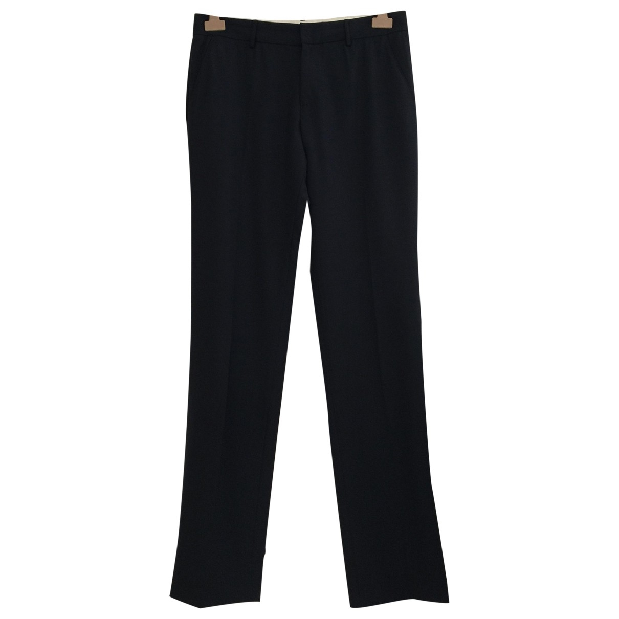 Pantalon recto de Lana Blumarine