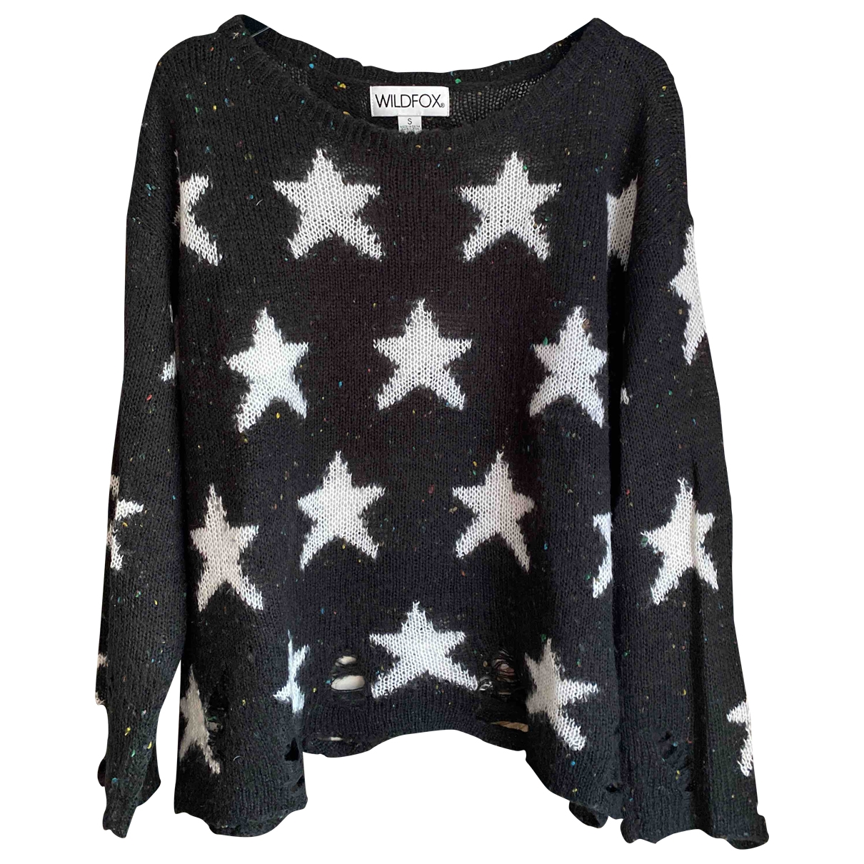 Wildfox \N Pullover in  Grau Wolle