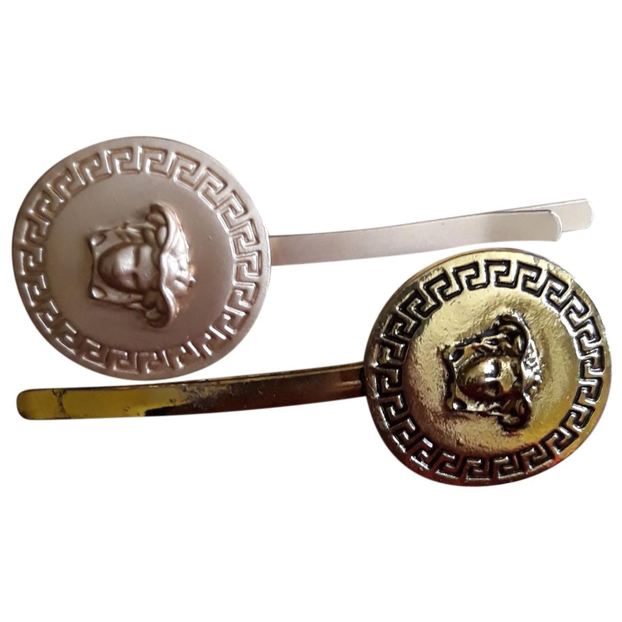 - Bijoux de tete Medailles pour femme en metal - metallise