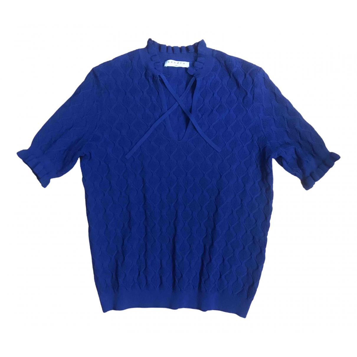 Sandro \N Blue  top for Women 38 FR