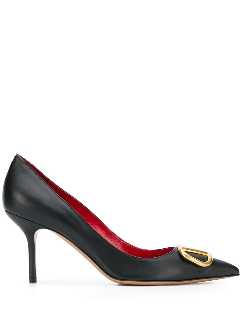 Vlogo Leather Pumps